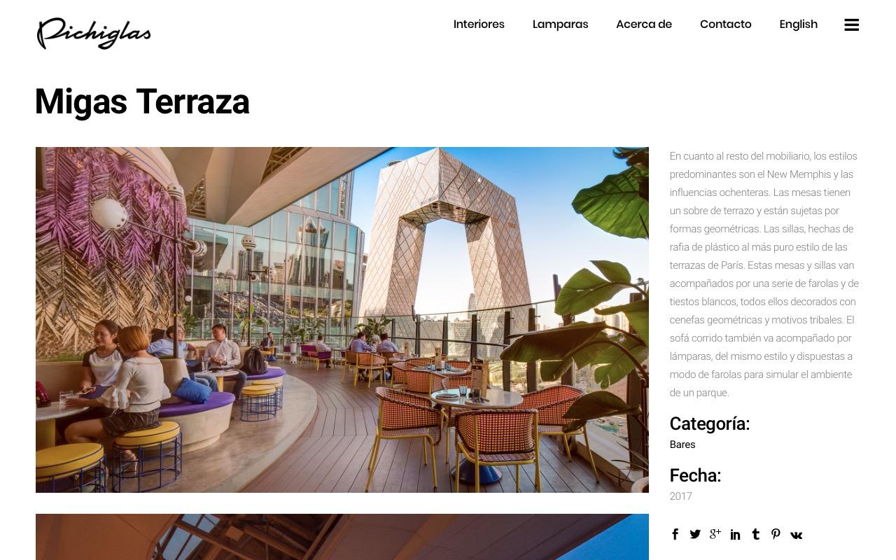 Pichiglas project page