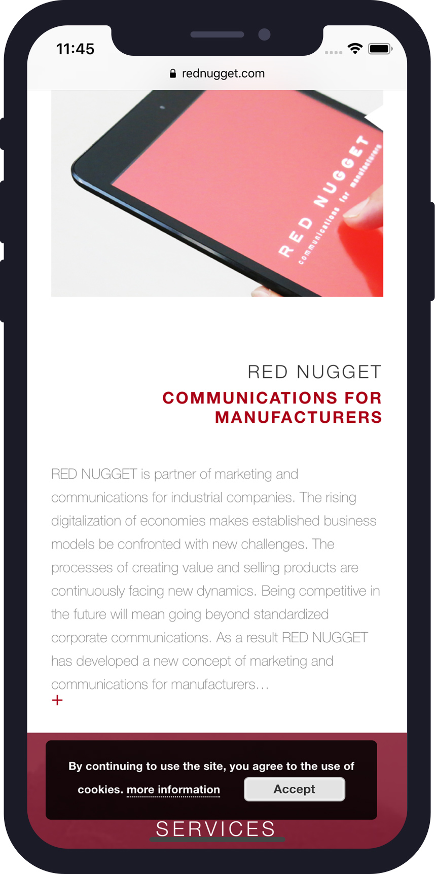 Red Nugget Phone