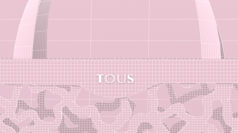 Tous Wireframe Bag and Logo